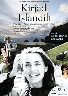 Kirjad Islandilt plakat